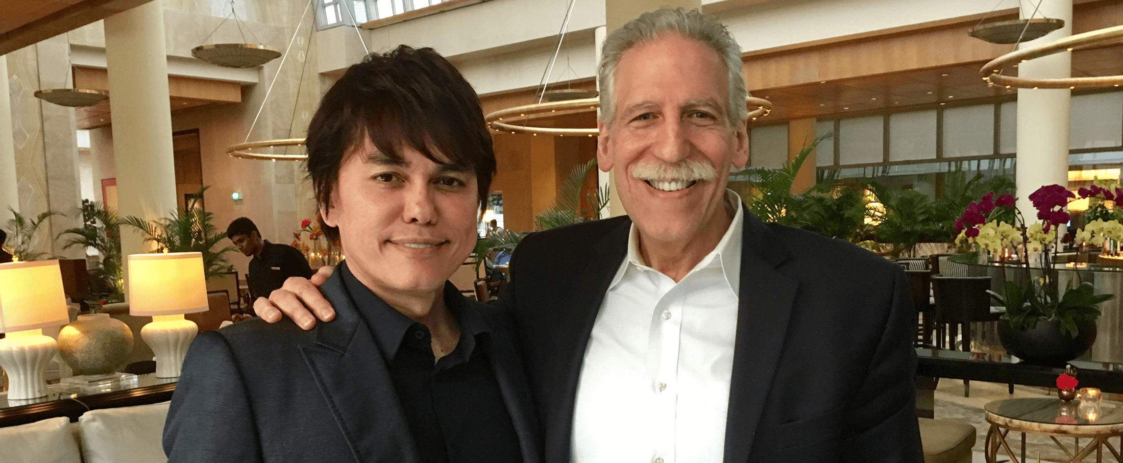 My Meeting with Pastor Joseph Prince | Ask Dr  Brown