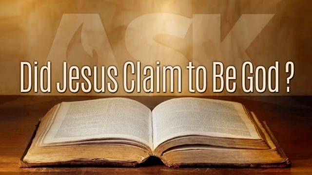 did jesus claim to be god essay Any reasonable claim to be writing about jesus within  out decades later in the persona of the god/man jesus depicted  ehrman's did jesus.