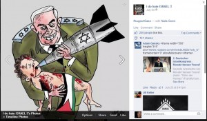 Horrific Israel Post on Facebook