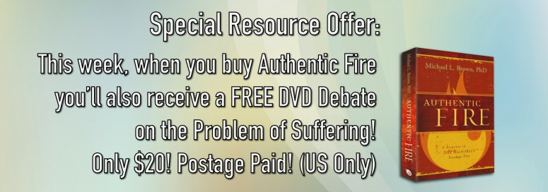 Buy Authentic Fire and Receive a FREE DVD Debate!