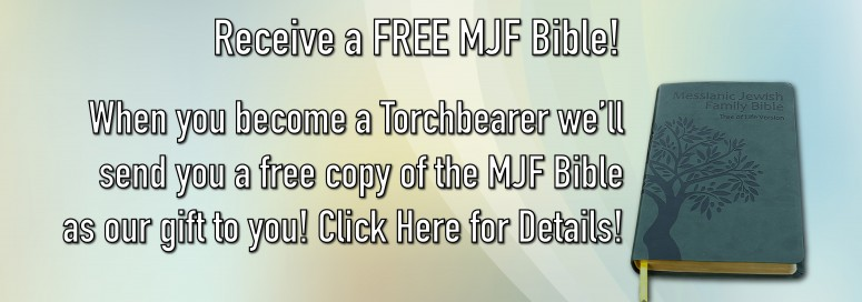 Become a Torchbearer and Receive a FREE MJF Bible