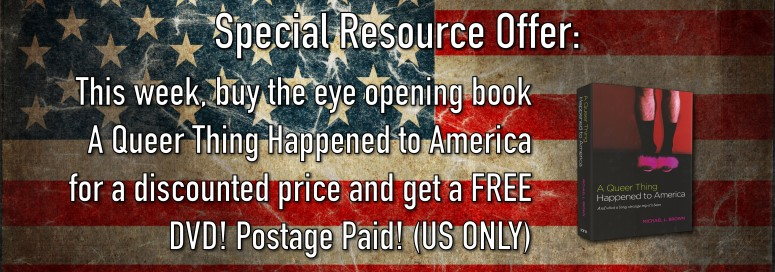 *Special* Buy A Queer Thing Happened to America and Receive a FREE DVD!