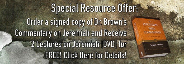 *Special* Signed Jeremiah Commentary and FREE DVD Lectures!